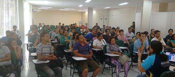 Minicurso de jardinagem tem início no Parque Lagoa Senador Arthur Virgilio Filho com 240 inscritos