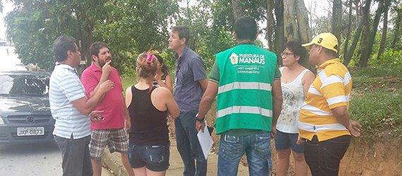Prefeitura reinstala placas de identificação furtadas de área verde do Águas Claras
