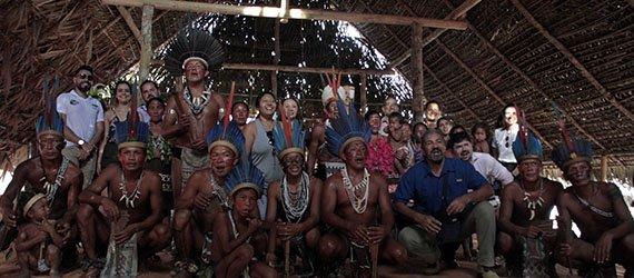 Participantes do 1º Fórum de Cidades Amazônicas vivenciam o turismo comunitário da RDS do Tupé